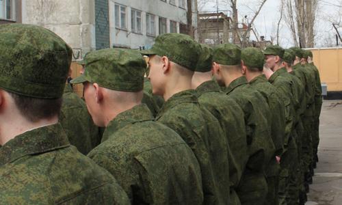 Служба в рядах Российской армии