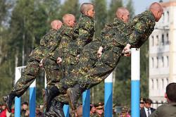 Физическая подготовка в армии