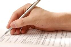 Подача заявления в комиссариат